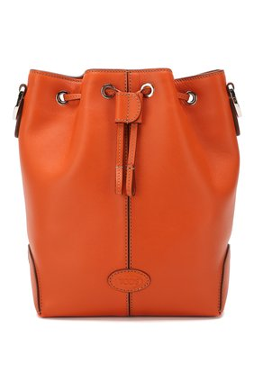 Женская сумка TOD'S оранжевого цвета, арт. XBWDBAK0100XPA | Фото 1