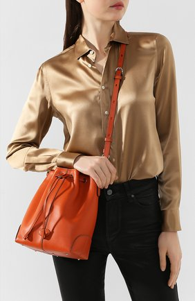 Женская сумка TOD'S оранжевого цвета, арт. XBWDBAK0100XPA | Фото 2