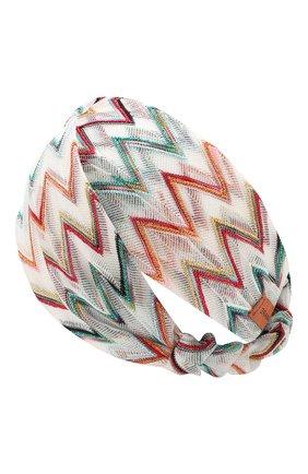 Женская повязка на голову MISSONI разноцветного цвета, арт. MMS00001/BR008J | Фото 2