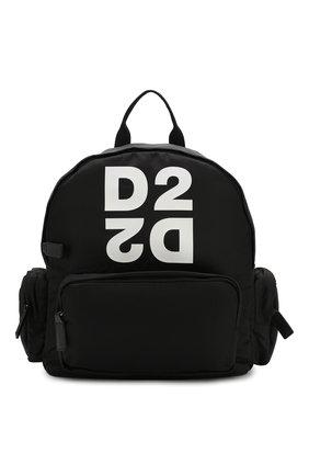 Детская рюкзак DSQUARED2 черного цвета, арт. DQ044R-D00PF | Фото 1