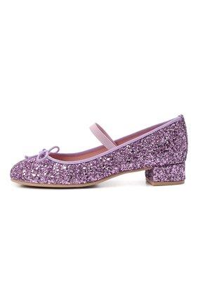 Детские туфли PRETTY BALLERINAS сиреневого цвета, арт. 48.807/KYLIE | Фото 2