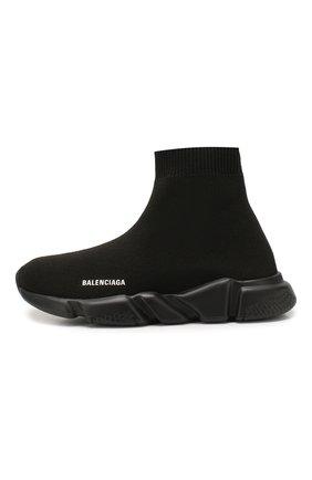 Детские текстильные кроссовки BALENCIAGA черного цвета, арт. 597425/W1701 | Фото 2