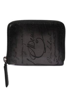 Мужской кожаное портмоне BERLUTI черного цвета, арт. N135254 | Фото 1