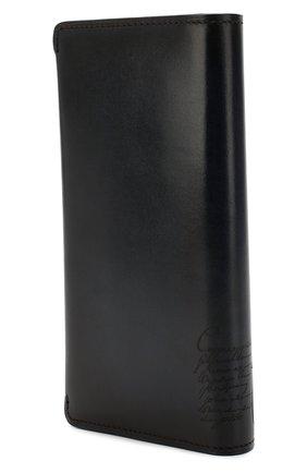 Мужской кожаное портмоне BERLUTI синего цвета, арт. N152809 | Фото 2