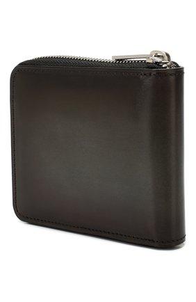 Мужской кожаное портмоне BERLUTI темно-коричневого цвета, арт. N196465 | Фото 2