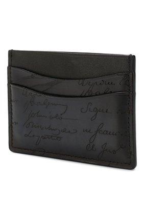 Мужской кожаный футляр для кредитных карт BERLUTI синего цвета, арт. N197180 | Фото 2