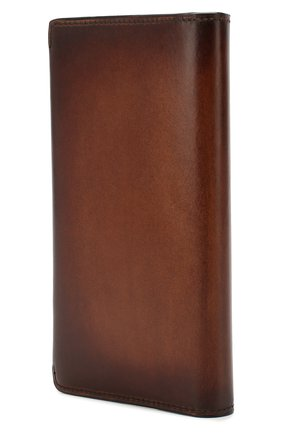 Мужской кожаное портмоне BERLUTI коричневого цвета, арт. N199195 | Фото 2