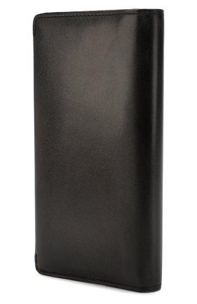 Мужской кожаное портмоне BERLUTI темно-серого цвета, арт. N199196 | Фото 2