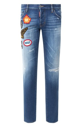 Мужские джинсы DSQUARED2 синего цвета, арт. S74LB0720/S30663   Фото 1
