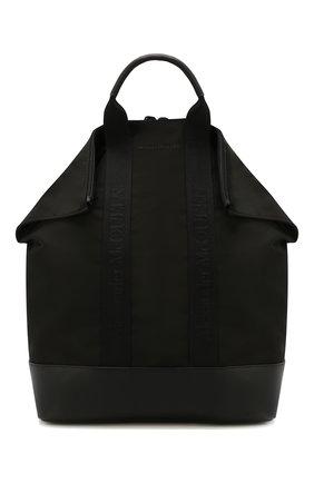 Мужской текстильный рюкзак ALEXANDER MCQUEEN черного цвета, арт. 548663/HU01B | Фото 1