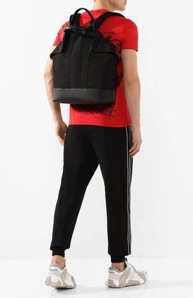Мужской текстильный рюкзак ALEXANDER MCQUEEN черного цвета, арт. 548663/HU01B | Фото 2