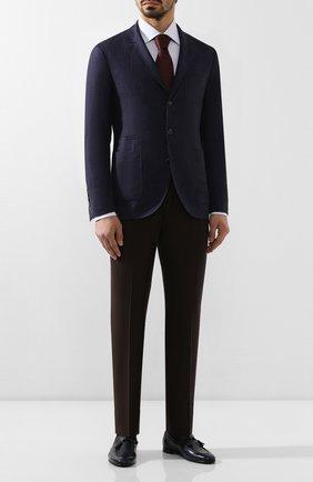 Мужские кожаные лоферы BARRETT синего цвета, арт. 141U050.36/CERV0 ASP0RTABILE | Фото 2