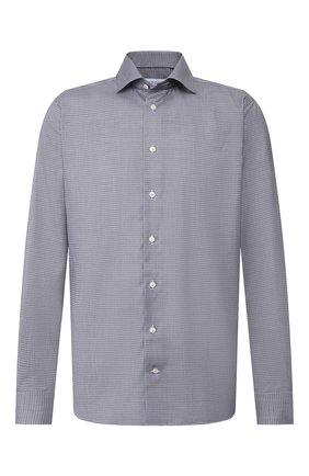 Мужская хлопковая сорочка ETON темно-синего цвета, арт. 1000 00613 | Фото 1