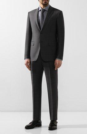 Мужская хлопковая сорочка ETON темно-синего цвета, арт. 1000 00613 | Фото 2