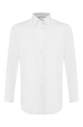 Мужская льняная сорочка BRIONI белого цвета, арт. SCCA0L/PZ114 | Фото 1