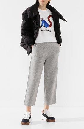 Женская хлопковая футболка MARKUS LUPFER белого цвета, арт. TEE336 | Фото 2