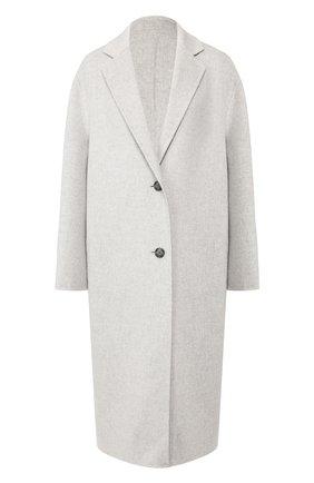 Женское пальто из смеси шерсти и кашемира JOSEPH светло-серого цвета, арт. JF004002 | Фото 1