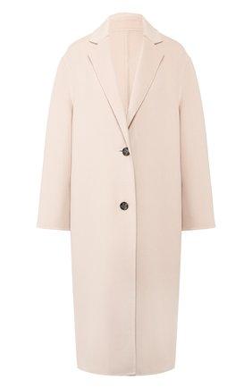 Женское пальто из смеси шерсти и кашемира JOSEPH розового цвета, арт. JF004002 | Фото 1
