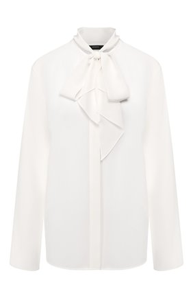 Женская шелковая блузка JOSEPH белого цвета, арт. JF004068 | Фото 1