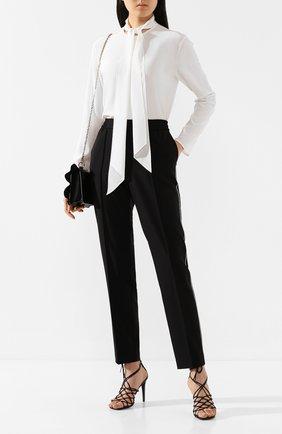 Женская шелковая блузка JOSEPH белого цвета, арт. JF004068 | Фото 2