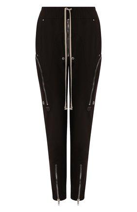 Женские брюки RICK OWENS коричневого цвета, арт. RP20S1326/WA | Фото 1