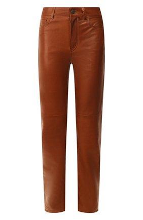 Кожаные брюки | Фото №1