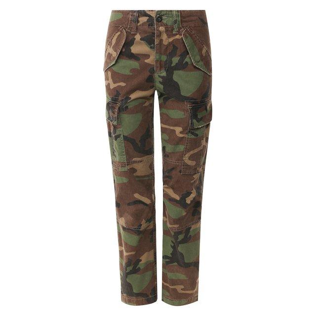 Хлопковые брюки Polo Ralph Lauren