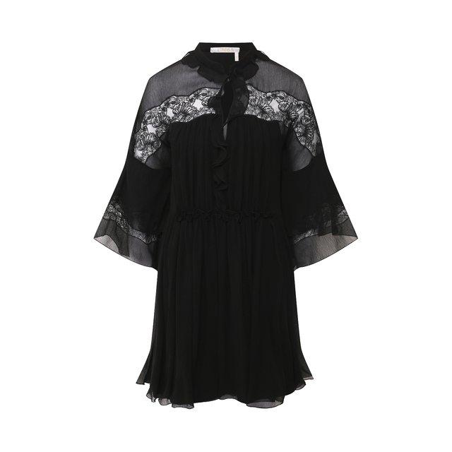 Шелковое платье Chloé