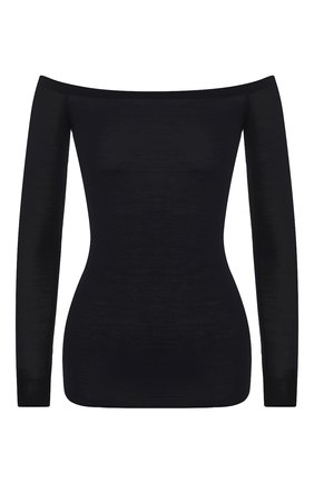 Женский шерстяной пуловер STELLA MCCARTNEY темно-синего цвета, арт. 573721/S1735 | Фото 1
