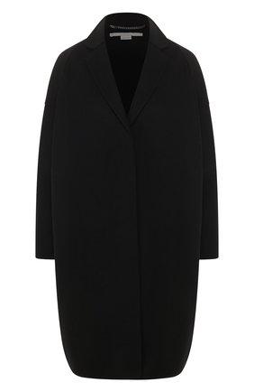 Женское шерстяное пальто STELLA MCCARTNEY черного цвета, арт. 573928/SMB09   Фото 1