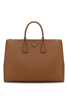 Мужская сумка galleria large PRADA коричневого цвета, арт. 2VG047-9Z2-F0401 | Фото 1