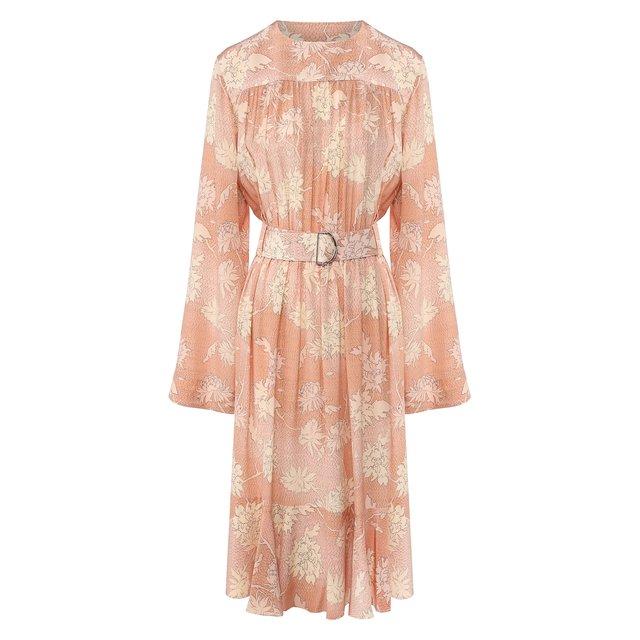 Платье с поясом Chloé Chloe