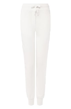 Женские хлопковые джоггеры DOLCE & GABBANA белого цвета, арт. FTBM6T/FU7DU | Фото 1