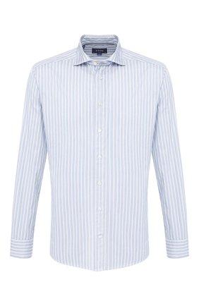 Мужская хлопковая сорочка ETON голубого цвета, арт. 1000 00385 | Фото 1