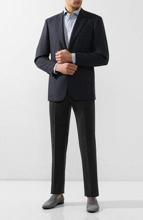 Мужская хлопковая сорочка ETON голубого цвета, арт. 1000 00385 | Фото 2