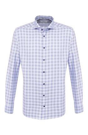 Мужская хлопковая сорочка ETON синего цвета, арт. 1000 00465 | Фото 1