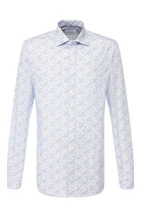 Мужская хлопковая сорочка ETON голубого цвета, арт. 1000 00522 | Фото 1