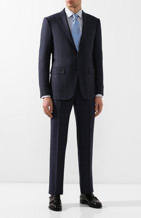 Мужская хлопковая сорочка ETON голубого цвета, арт. 1000 00522 | Фото 2