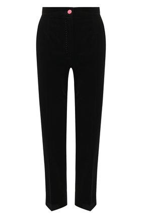 Женские хлопковые брюки DOLCE & GABBANA черного цвета, арт. FTB00T/FUVJZ | Фото 1