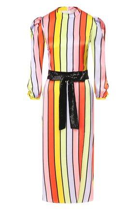 Женское шелковое платье OLIVIA RUBIN разноцветного цвета, арт. 0R0282/SERAPHINA DRESS | Фото 1