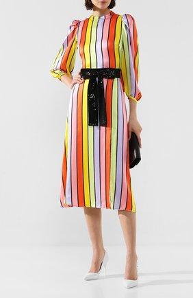 Женское шелковое платье OLIVIA RUBIN разноцветного цвета, арт. 0R0282/SERAPHINA DRESS | Фото 2