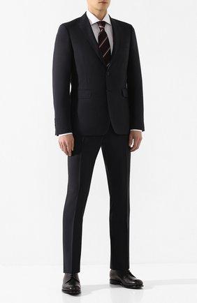 Мужской шерстяной костюм BURBERRY синего цвета, арт. 8022236 | Фото 1