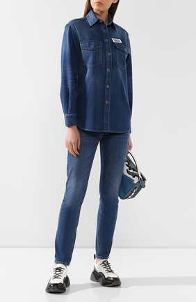 Джинсовая рубашка | Фото №2