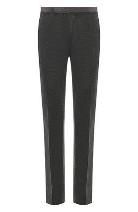 Мужские хлопковые брюки RALPH LAUREN серого цвета, арт. 798783842 | Фото 1