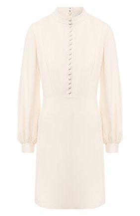 Женское платье CHLOÉ белого цвета, арт. CHC20SR095237 | Фото 1