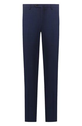 Мужской шерстяные брюки LORO PIANA темно-синего цвета, арт. FAL1515 | Фото 1