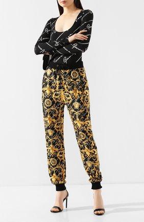 Шелковые брюки | Фото №2