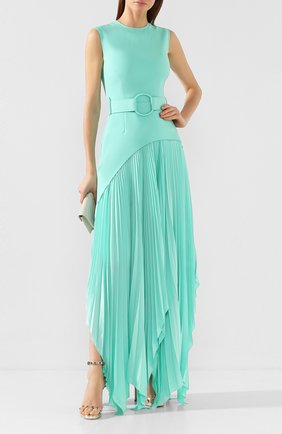 Женское платье с поясом SOLACE светло-зеленого цвета, арт. 0S25054 | Фото 2