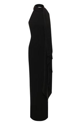 Женское платье-макси SOLACE черного цвета, арт. 0S25058 | Фото 1