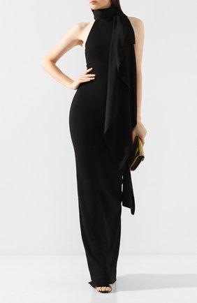Женское платье-макси SOLACE черного цвета, арт. 0S25058 | Фото 2